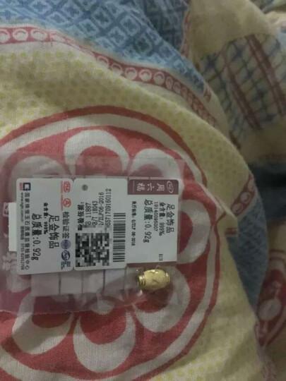 周六福黄金转运珠路路通金珠子散珠计价T 0.68g C款AA160214 已含工费48元 晒单图