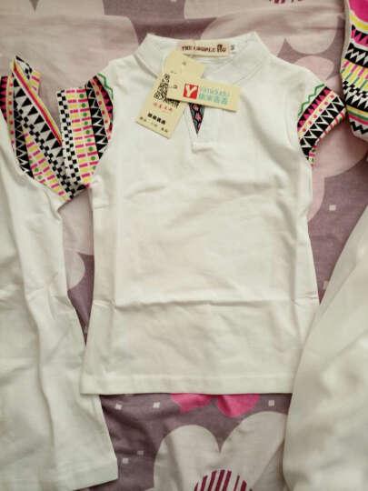 依米丢丢 亲子装2018春夏季新款休闲母女母子一家三口装全家装儿童T恤女童连衣裙 妈妈S码 晒单图