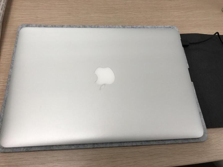 ACE COAT 苹果Air电脑包mac Pro内胆包防摔毛毡包Macbook保护套布袋 随行系列 浅灰 Macbook 15.4英寸 晒单图