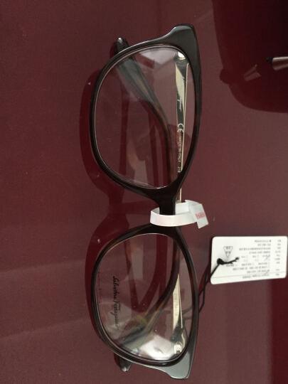 FERRAGAMO 菲拉格慕 女款玳瑁色镜框金色镜腿光学镜架眼镜框 SF2745A 214 54MM 晒单图