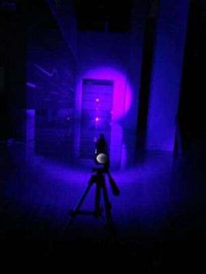 【下单送感应头灯】天火四光源大功率钓鱼灯夜钓灯强光调焦防水远射手电筒 紫色 标配 晒单图