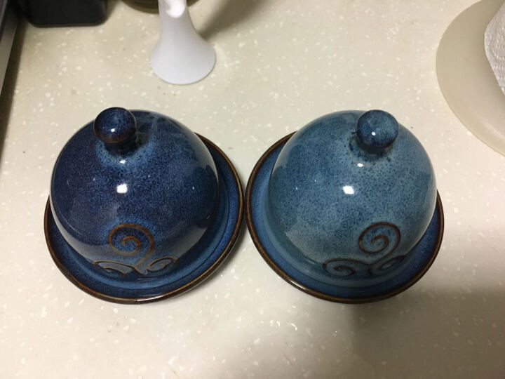 朵颐 西餐配料碟子 陶瓷可爱小吃碟酱碟碟子小菜碟迷你味碟骨碟调味碟酱油碟 晒单图
