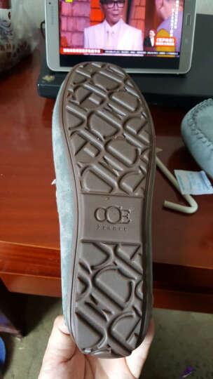 CCE豆豆鞋 手工英伦耐磨驾车休闲鞋男懒人鞋子男 宝蓝(偏小 按运动鞋码拍) 43 晒单图