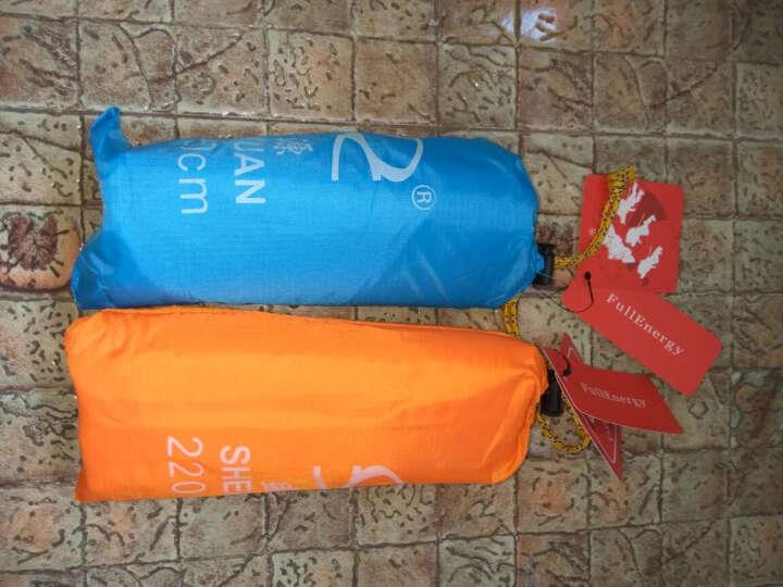 全能量 户外多功能三合一雨衣野营骑行背包雨披徒步轻便防雨罩E1028 橙色 晒单图