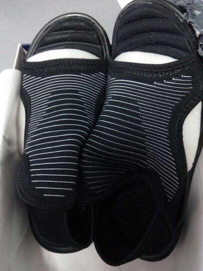 森度鲨SENDUSHA 飞织凉鞋(凉拖两用) 6661黑色 43 晒单图