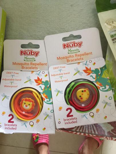 努比(Nuby)防蚊驱蚊扣 婴幼儿植物精油防蚊扣 宝宝驱蚊手环贴3个装 图案随机 晒单图