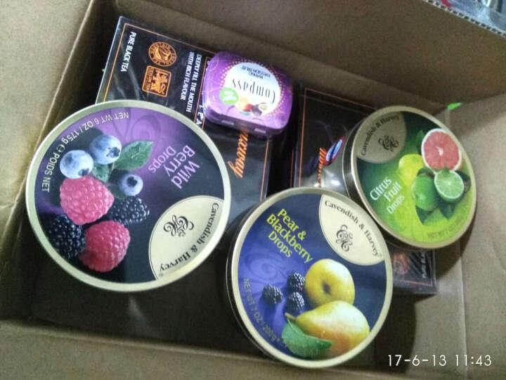 京东海外直采 嘉云糖 Cavendish&Harvey 黑莓梨味硬糖 德国进口 200g 晒单图