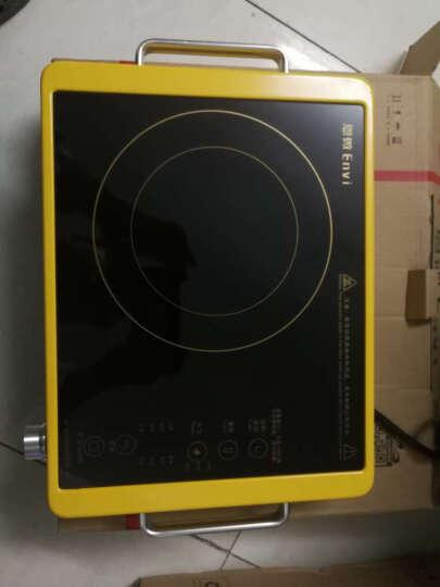 恩微DT-212B电陶炉德国进口技术家用2500W大功率光波台式火锅烧烤炉无电磁辐射特价 黄色 晒单图