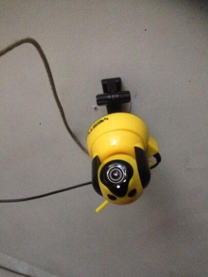 Yestv 监控器家用 监控摄像头高清 室内夜视 无线1080P网络摄像头 360度wifi监控一体 蓝色双尾720P 官方标配不带内存卡 晒单图