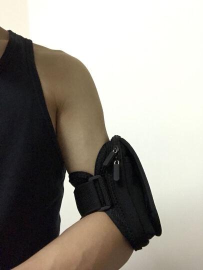山业SANWA 5.2英寸手机运动臂带 苹果6s/6户外运动跑步骑行臂包 PDA-ARM3 黑色 晒单图