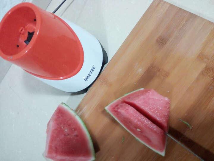 意美特(IMETEC) 便携式果汁机 迷你家用料理榨汁机 全自动辅食搅拌机 HR381 紫色 晒单图