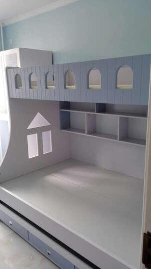 优漫佳 台式电脑桌 儿童书桌 电脑台书桌写字台 1.2M转角蓝色(不含转椅) 晒单图
