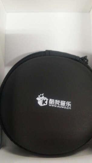 酷我(KUWO)K1 无线蓝牙运动耳机 磁吸断电 大振膜强劲低音 炫动绿 晒单图