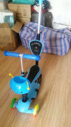 恺亨(KHENG)189-2四三合一滑板车3三轮2岁小孩宝宝滑滑车学步车儿童滑板车可坐男女 晒单图