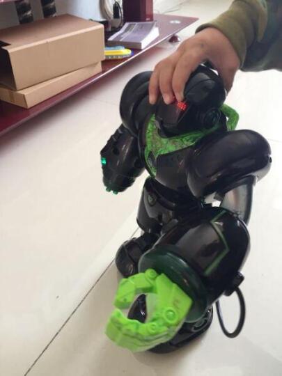 诺巴曼2019机械战警儿童玩具男孩玩具女孩1-3-6岁以上益智玩具宝宝婴儿小孩幼儿早教机智力玩具 5088白色-大型35cm机械战警 晒单图