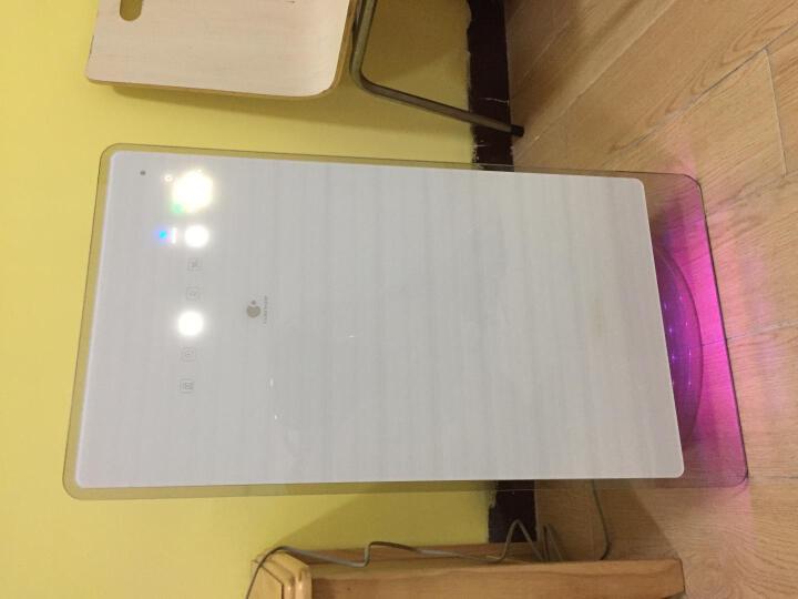 松下(Panasonic)空气净化器F-FF06CV-W加湿除雾霾PM2.5除甲醛二手烟 离子杀菌时尚触屏家用 晒单图