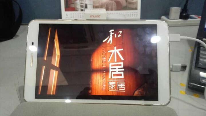【送大礼包】华为(HUAWEI)荣耀平板2 平板电脑 8.0英寸安卓全网通话手机 香槟金3G+32G 全网通版 晒单图