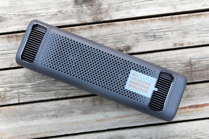 小米(MI)车载空气净化器 过滤 PM2.5 颗粒物 静音模式 双风机循环气流  晒单图