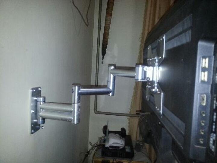 豪迈左右旋转90度电视挂架 不锈钢小米乐视三星液晶电视架/支架/挂架/壁架32 37寸 晒单图