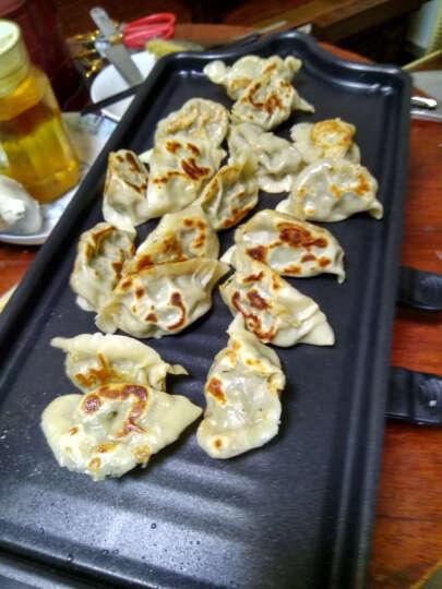 捷昇(JIESHENG)韩式无烟电烧烤炉家用电烤盘煎烤户外烤肉机 大号双层贵族红(豪华套餐) 晒单图