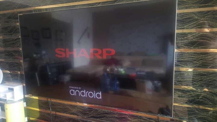 夏普 (SHARP)LCD-60SU470A 60英寸 4K超高清智能语音 HDR 智能网络液晶电视 晒单图