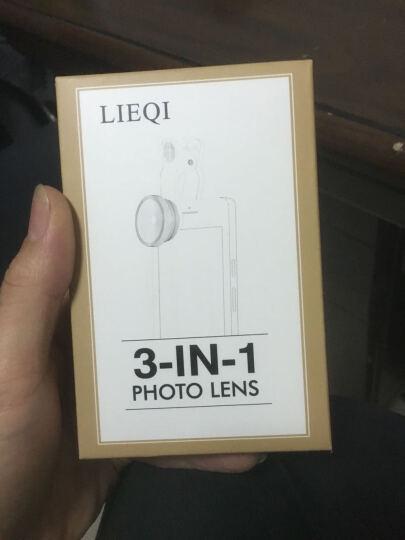 猎奇(LIEQI) LQ-603 手机镜头 广角鱼眼微距三合一套装 苹果华为外置摄像头 银色 晒单图