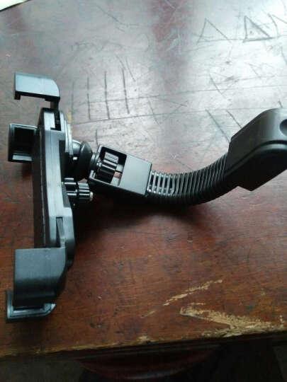一口米摩托车手机支架骑行装备电动车配件电动车手机支架踏板车手机导航支架电动车后视镜款四爪手机支架 黑色 晒单图