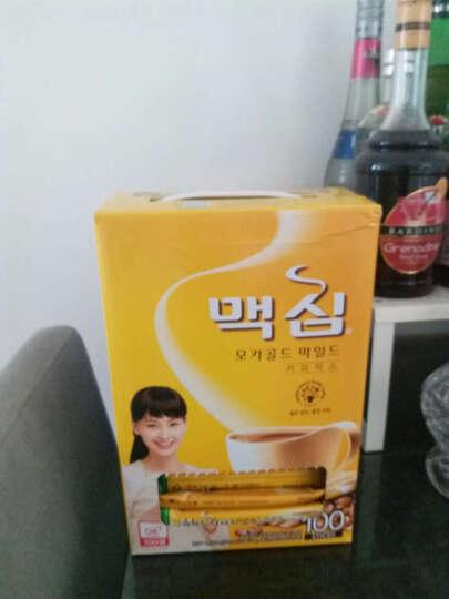 韩国进口东西麦馨maxim三合一速溶摩卡麦可馨咖啡 盒装 100条 晒单图