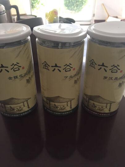 【3免1】金六谷下火凉茶饮料金银花茶祛湿罗汉果茶20袋/罐 去火降火清热解毒清咽利肺润喉 罗汉果凉茶 晒单图