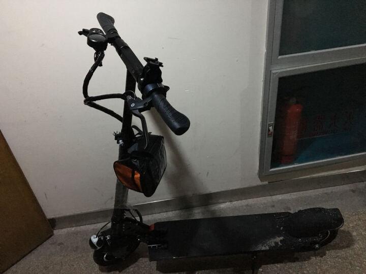 电动滑板车电动车电动自行车成人两轮代步车折叠车踏板车迷你电动车锂电池代步车 专享版10AH 48V500W续航40-50公里 默认6 晒单图