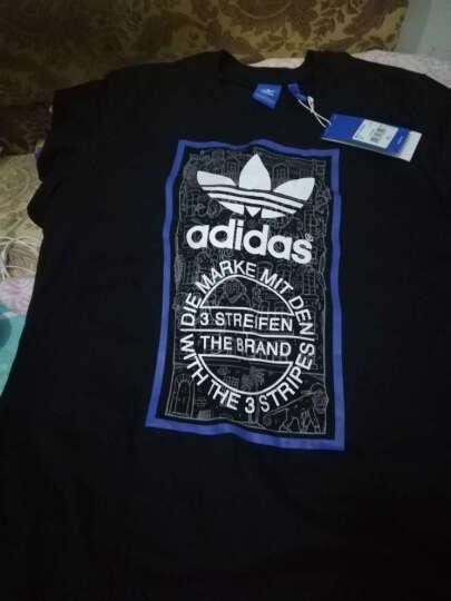 Adidas阿迪达斯男装 夏季新品三叶草印花运动休闲透气圆领短袖T恤BP8982 AZ1054 S/175/92A 晒单图