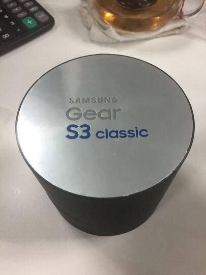三星(SAMSUNG)Gear S3智能手表 16项运动追踪管理 可旋转表盘操作 实时心率监测 兼容安卓IOS经典版 晒单图