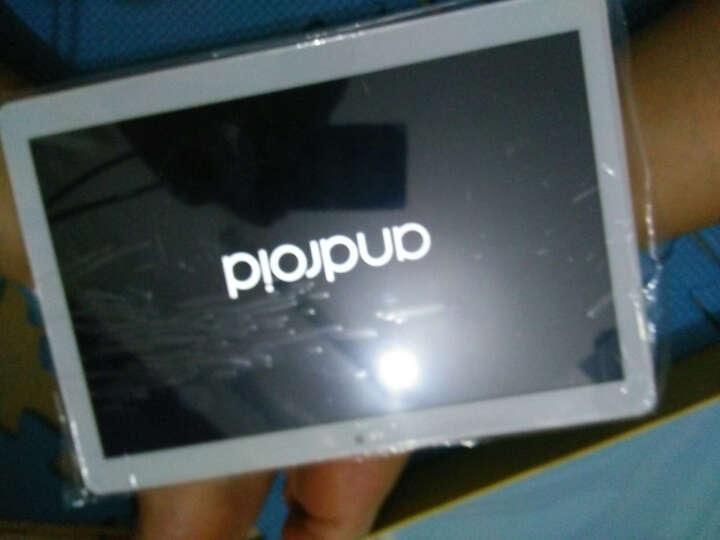 艾电尼 A101 平板电脑八核10.1英寸IPS高清屏安卓4G通话手机二合一 玫瑰金(64G) 官方标配+皮套 晒单图
