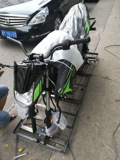 启典KIDEN摩托车 2017升级版KD150-F后碟刹款 单缸风冷150cc骑式车 磨砂黑(绿色贴花/后碟刹)2017款 晒单图