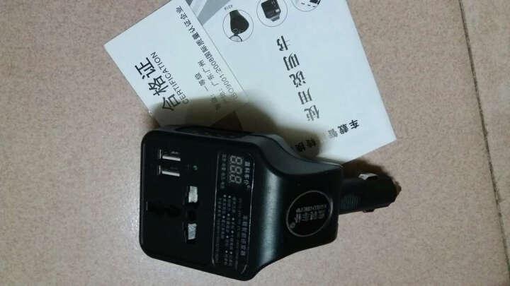 【京东闪送】实创科 车载电源转换器12V/24V转220V通用逆变器带USB充电变压器插座 12V/24V通用-带1个点烟孔 晒单图