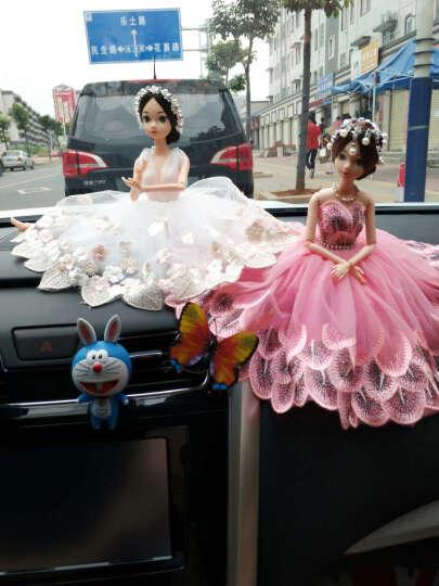 知途 汽车载摆件饰品 时尚车内摆件饰品卡通女神娃娃玩具装饰品工艺品礼品汽车用品 女神深V款B 晒单图