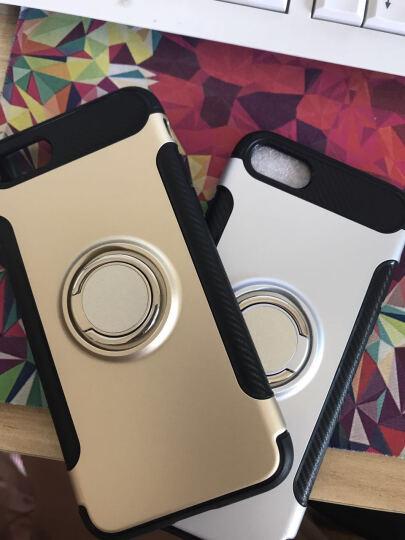 优内特 苹果7手机壳iPhone7 plus保护套苹果8硅胶防摔男女款8P全包软壳指环支架 4.7寸--苹果7/8太空银 晒单图