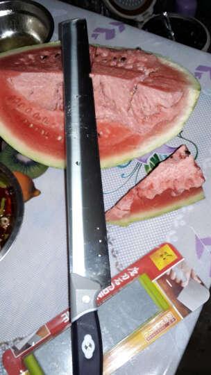 十八子作 不锈钢切西瓜 加长瓜果刀 水果刀哈密瓜刀 切蛋糕刀 大号西瓜刀S205-A 晒单图
