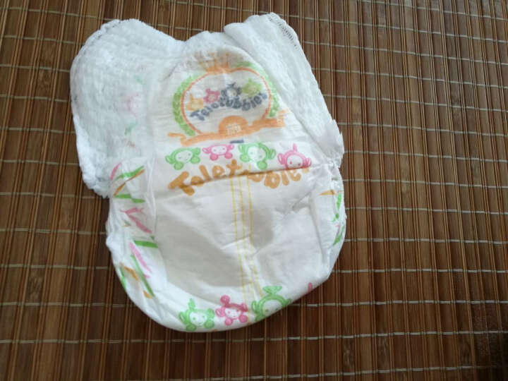 天线宝宝 优乐绵吸  婴儿拉拉裤 成长裤 男女儿童通用 L/XL12片 L码 晒单图