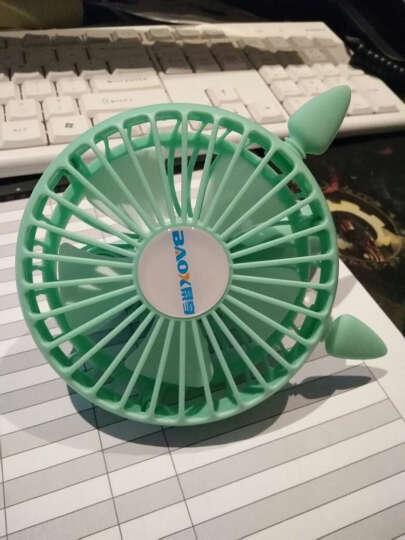 暴享usb小风扇迷你京东自营可充电扇手持静音大风力办公室桌面学生随身便携创意小型女生可爱卡通BXF10电风扇 晒单图