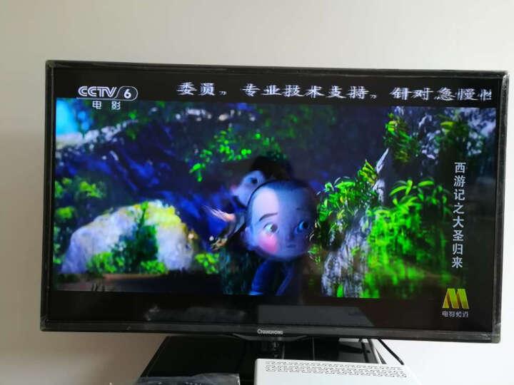 长虹(CHANGHONG)LED32B2080n 32英寸窄边网络LED液晶电视(黑色) 晒单图