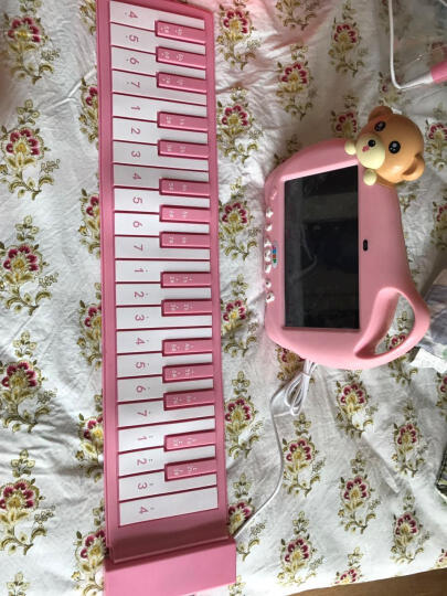 极度空间(JDBF)早教机学习机儿童益智玩具硅胶钢琴键盘7007专用 晒单图