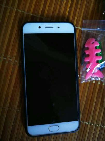 艾美森 oppor9s手机壳保护套全包防摔男女款 适用于oppor9s/r9s plus R9s电镀镜面亮黑哈喽(5.5英寸) 晒单图
