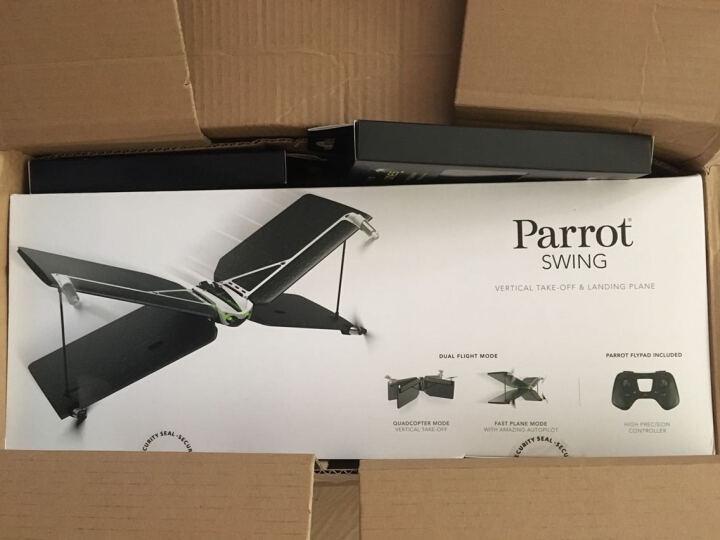 Parrot 法国派诺特  Swing速影无人机 X翼遥控飞机玩具可手机遥控 黑色 晒单图