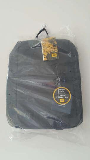 CAT/卡特双肩包男士极简都市设计背包休闲商务笔记本15.6英寸电脑包旅行运动学生书包 深卡其 晒单图