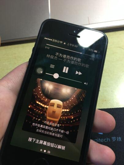 全球购 Apple iPhone5S 智能手机 苹果手机 演示机 4G手机 海外版 黑色 移动2G联通4G电信3G(16G) 晒单图