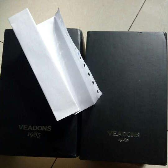 威顿(VEADONS)女士手表 皮带女表 超薄防水石英手表女 学生情侣男士手表一对 钟表 5052黑面黑带/女表 女表 晒单图