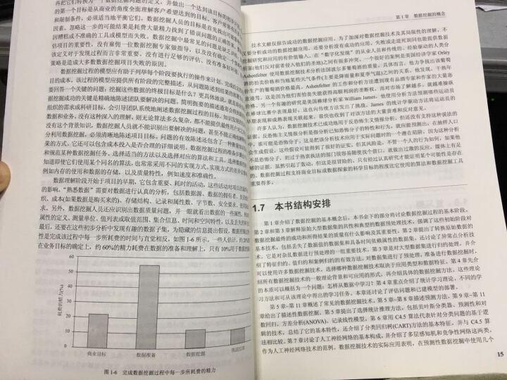 国外计算机科学经典教材·数据挖掘:概念、模型、方法和算法(第2版) 晒单图