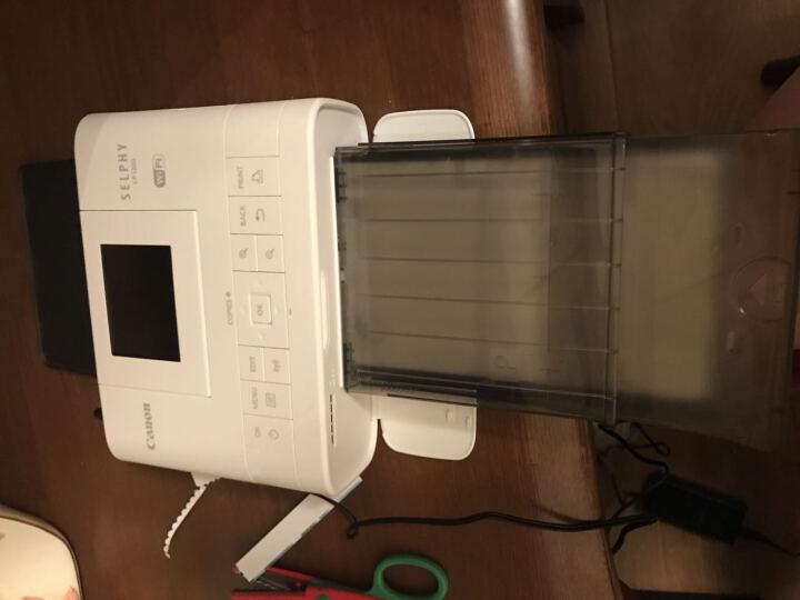 佳能(Canon) CP1200 手机无线照片打印机家用 炫飞热升华便携相片小型照片打印 金色CP1200套餐四 晒单图