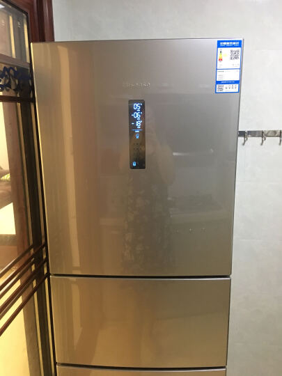 海信 (Hisense) 236升 三门冰箱 风冷无霜 电脑控温 中门宽幅变温 节能静音 (流光银) BCD-236WTD/Q 晒单图